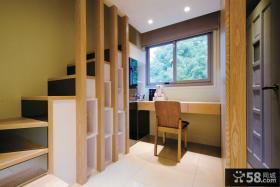 美式风格楼梯间设计图