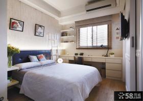 简约风格10平米卧室图片