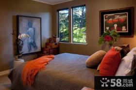 美式乡村别墅时尚创意小卧室装修效果图