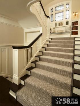 北欧设计室内楼梯效果图大全