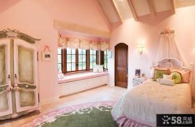 公主房卧室飘窗装饰效果图