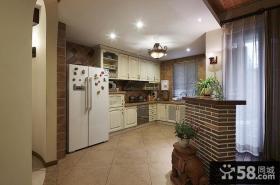 家庭设计装修厨房隔断图片大全