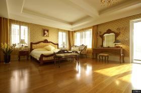 欧式风格别墅卧室图2014
