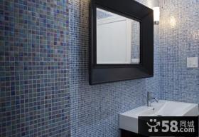 12万打造120平米现代简约风格卫生间装修效果图大全2012图片