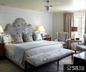 家装卧室壁纸效果图