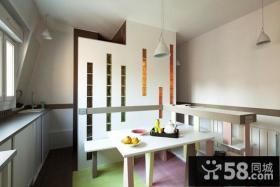30平超小户型现代餐厅装修效果图大全2014图片