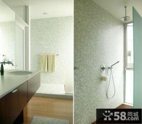 美式风格装修图片 美式风格装修案例 卫生间图片