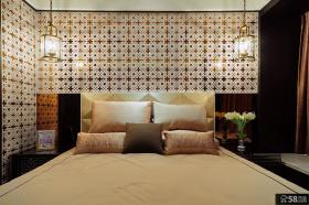 居家卧室墙纸装修设计图片