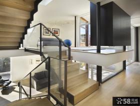 简约家装错层楼梯设计图