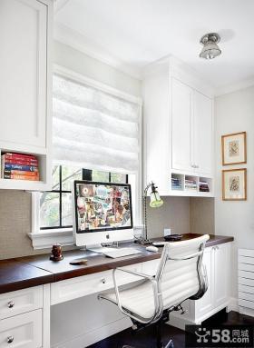 欧式小阳台书房装修效果图