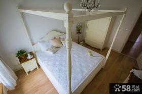 韩式田园卧室装修设计2014