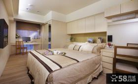 现代风格两室一厅卧室设计图片