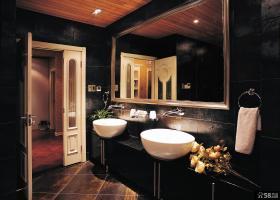 别墅奢华洗手间效果图