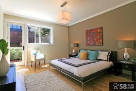别墅卧室装饰设计效果图