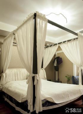 中式风格复式家居卧室设计效果图片