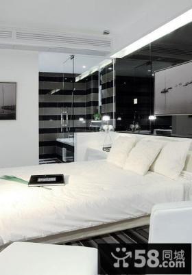 时尚简约装修风格卧室设计