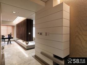 现代风格玄关墙壁室内设计效果图