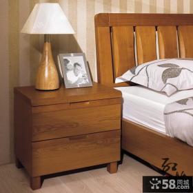 卧室实木斗柜图片