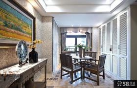 美式新古典风格室内休闲区装修图片
