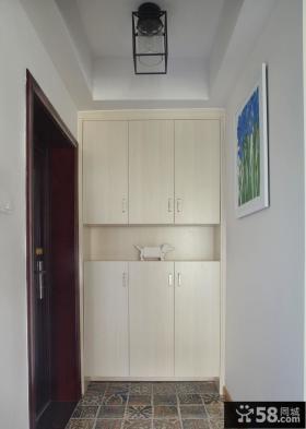 简约家居公寓鞋柜装饰效果图