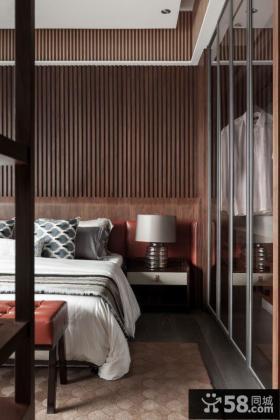 现代家装设计卧室床头灯具图片