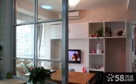 客厅与厨房隔断设计