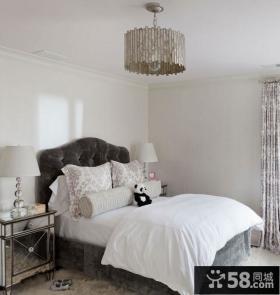 轻盈优雅的复式楼小卧室装修效果图大全2012图片
