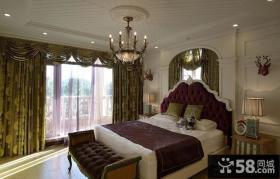 欧式风格家居卧室图片欣赏2014