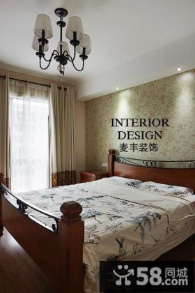 田园美式风格卧室装修效果图欣赏