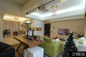 混搭风格110平米三室两厅装修效果图大全