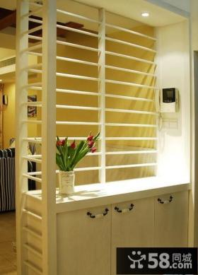优质客厅玄关隔断装修效果图大全