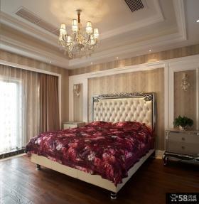 欧式新古典卧室吊顶装修效果图片