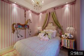 豪华时尚欧式卧室舒适图片欣赏