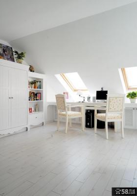 简约复式家装设计室内阁楼图片