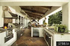 开放式厨房阳台装修图片大全