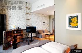 时尚现代一居室小户型装修图
