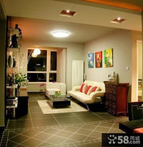 美式装修客厅风格样板房