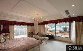 现代欧式风格卧室效果图装修