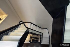 中式家装风格别墅楼梯设计