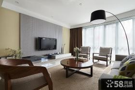 后现代客厅电视背景墙设计
