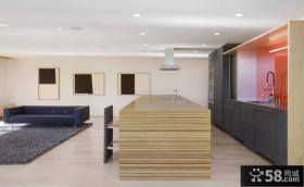 日式风格室内客厅厨房隔断设计