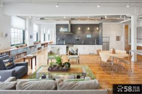 简约开放式复式住宅设计