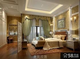 欧式风格复式楼主卧室装修效果图
