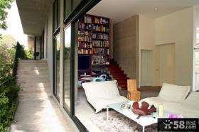 宜家复式楼休闲室装修设计图片
