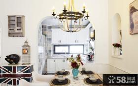 家庭餐厅吊灯造型设计效果图