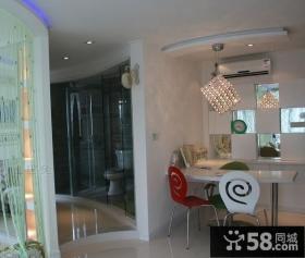小户型客厅玄关装修设计效果图大全2012图片