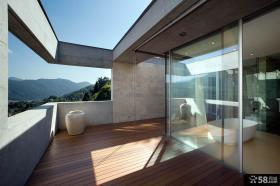 简单阳台装修设计效果图