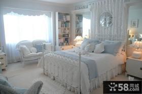 复式楼装修效果图 女生卧室装修效果图