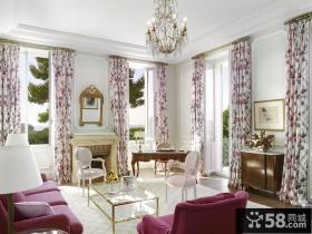 时尚欧式客厅水晶灯图片