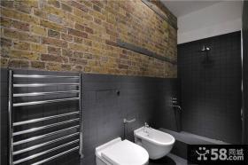 简约到极致的美式风格卫生间装修效果图大全2012图片